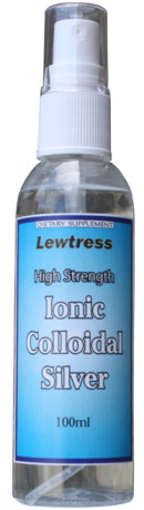 Lewtress Ionic Colloidal Silver - High Strength