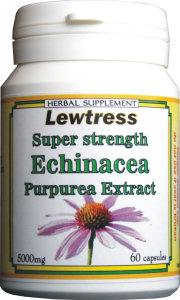 Lewtress Echinacea Super Strength 9000mg Capsules