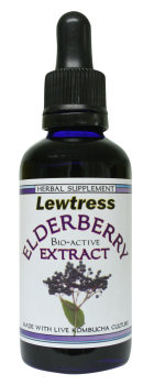 Lewtress Elderberry Extract  High Potency Bio Active Concentrate