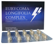 Men's Supplements : Male Enhancers : Eurycoma Longifolia