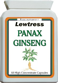 Lewtress Panax Ginseng Extract Capsules